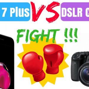 iPhone 7 Plus Vs DSLR (Canon 80D) Camera comparison - Photos and Videos