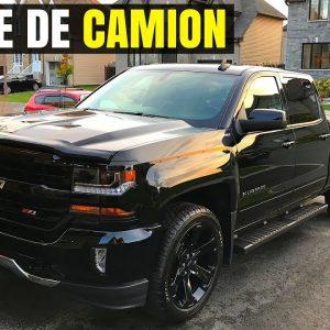 LAVAGE DE CAMION: Chevrolet Silverado Z71 (Pick-up)