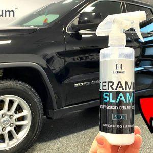 LITHIUM CERAMIC SLAM : a durable DIY ceramic spray coating !
