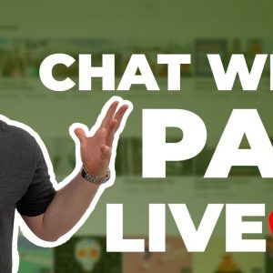LIVE STREAM with Pan!  Come and chat with me! Ep. 1