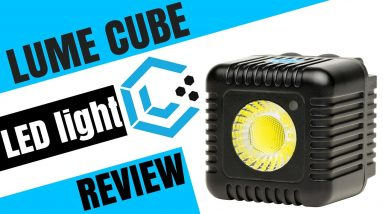Lume Cube - Best portable LED video/photo light ??  (UNBOXING & REVIEW)