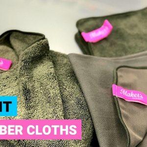 Makers Clean Auto Kit : Premium Microfiber Cloths !!