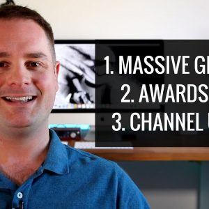 MASSIVE GIVEAWAY, DETAILING PRODUCTS AWARDS VIDEO AND CHANNEL UPDATE !!!