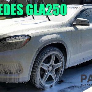 MERCEDES-BENZ GLA250: FULL DETAIL OF A WHITE SUV