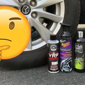 Mise-à-jour du défi des dressings pneus: ont-ils duré?  (PARTIE 2)