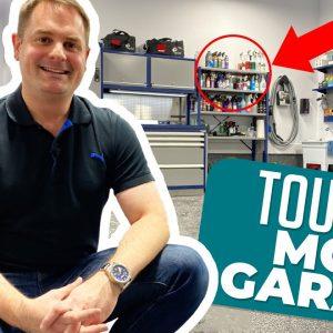MON NOUVEAU GARAGE DOUBLE!!  Visite de mon garage 3.0