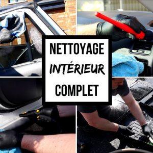 NETTOYAGE INTÉRIEUR COMPLET DE VOITURE !!