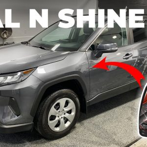 NEW Turtle Wax ICE Seal N Shine (IMPROVED FORMULA) !!  REVIEW