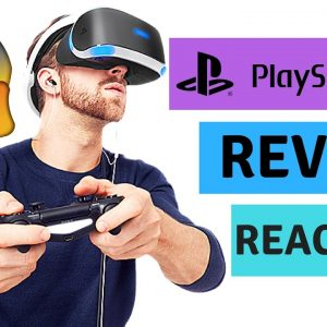 PlayStation VR review, experience & in-game reaction !!  OMG !!!