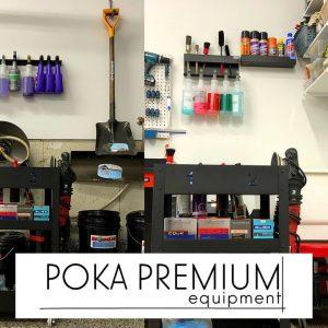Poka Premium detailing equipment to organize your work!