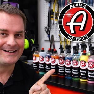 Produits Adam's Polishes pour le lavage de voitures!!