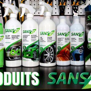 Produits d'esthétique de voiture SansZo