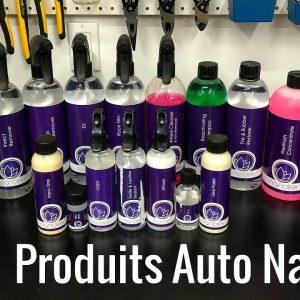 Produits d'esthétique de voitures NANOLEX !