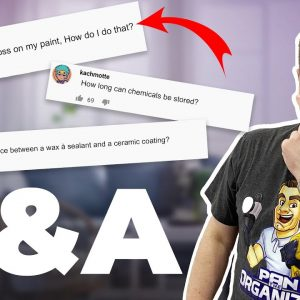 Q&A #4: I ANSWER YOUR DETAILING QUESTIONS !!
