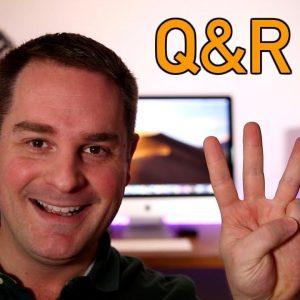 Q&R #3 : Je réponds à vos questions + mise à jour concernant ma chaîne YouTube!!