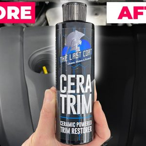 Restore faded plastic trim on your car with CeraTrim!! IT WORKS!!