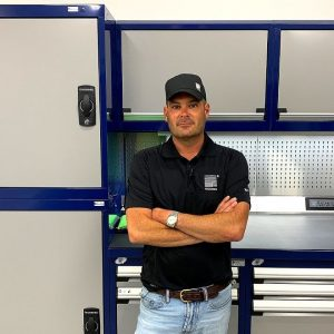 ROUSSEAU METAL GARAGE CABINETS AND TOOLBOX !!