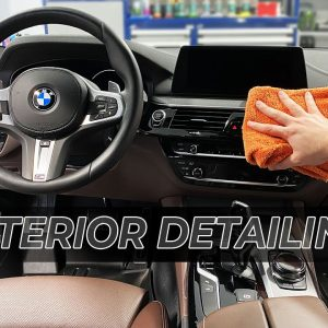 SATISFYING INTERIOR CAR CLEANING : Interior Weekly Detailing of my Car!