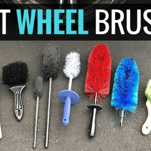 THE BEST WHEEL CLEANING BRUSHES !!!