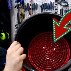 The Detail Guardz Dirt Lock bucket filters!  Great innovation!