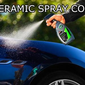 TURTLE WAX CERAMIC SPRAY COATING (NEW!) : IS IT BETTER THAN SEAL N SHINE ?!?