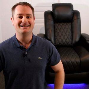 VALENCIA TUSCANY: La Rolls-Royce des sièges de cinéma maison!