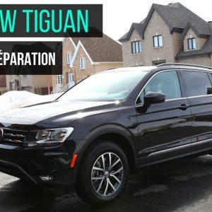 Volkswagen Tiguan 2018: Préparation d'un véhicule neuf !!