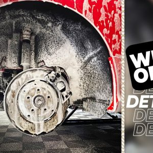 WHEELS OFF DETAIL : Cleaning and protecting wheels & wheel arches!