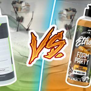 CarPro Lift vs Ethos Foam Party - Battle of snow foams!