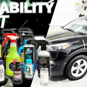 REAL WORLD MEGA DURABILITY TEST - What is the best paint protection?