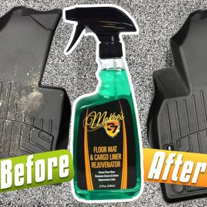How To Clean And Rejuvenate Rubber Mats!