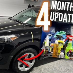 FOUR MONTH UPDATE: REAL WORLD MEGA TEST with 20 different paint protectants!