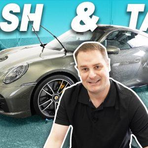 Wash & Talk : Porsche 911 Turbo S (First maintenance wash!)