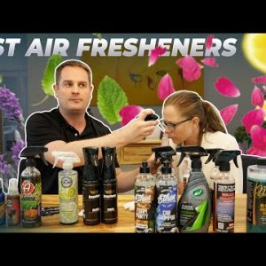 What are the best car air fresheners? Experiment with my girlfriend!