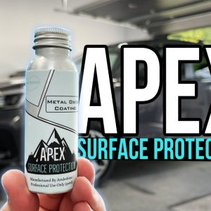 APEX Surface Protection Metal Oxide Coating applied to my parents' new SUV !!