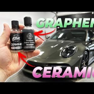 How to apply a ceramic coating or graphene coating to a car!!