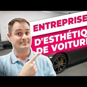 Comment démarrer une entreprise d'esthétique de voitures!