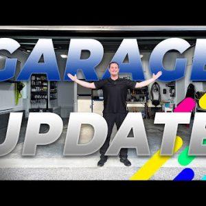 Garage Tour 4.0 : Awesome garage updates!