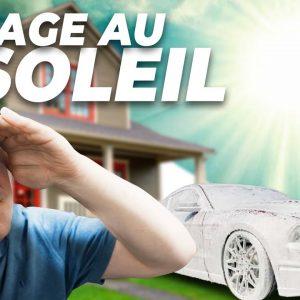 Lavage De Véhicule Au Soleil : produits, trucs et astuces!