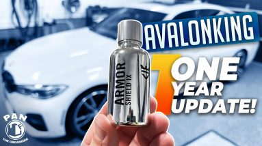 AvalonKing ceramic coating : 1 YEAR UPDATE !!