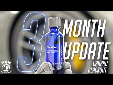 CarPro BlackOut tire coating : 3 month update! DID IT LAST ?!?