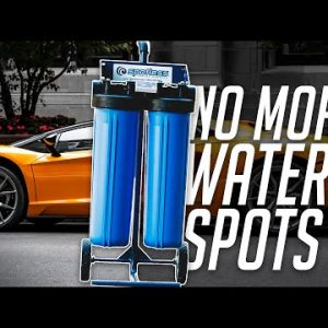 No More Water Spots When Washing Your Car In The Sun!