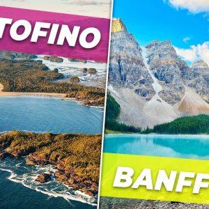 My trip to British Columbia and Alberta! Visiting Vancouver, Tofino and Banff! ✈️🌎🇨🇦