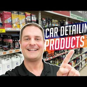 Any Good Detailing Products At Your Local Auto Parts Store? Let's find out!