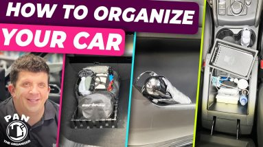 How to organize the interior of your car!