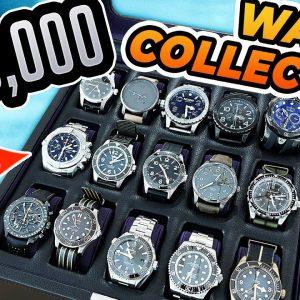 My Crazy Luxury Watch Collection! | Rolex, Omega, Tudor, Breitling, Glashütte, Marathon, Oris...